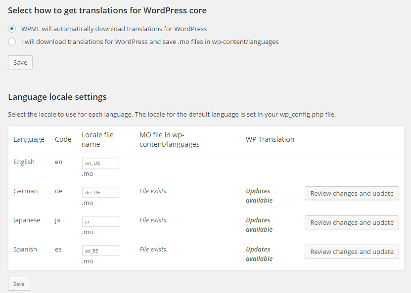 how to download wordpress site files