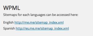 Sitemaps WPML SEO