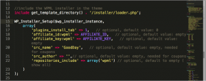 WPML installer theme functions