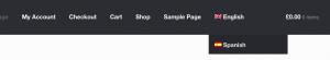 Storefront Langauge Switcher Fixed