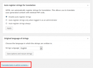 Translate widget fields