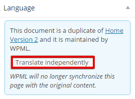 translate independently