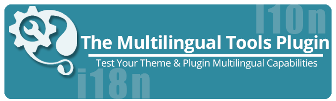 Multilingual Tools Plugin
