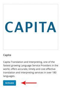 Activating Capita