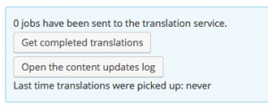 WPML Translation Management Jobs Sent To Translation Service
