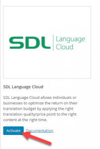 Activating SDL