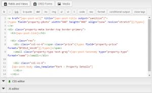 Configurando uma View - 3. Crie o design da saída usando HTML
