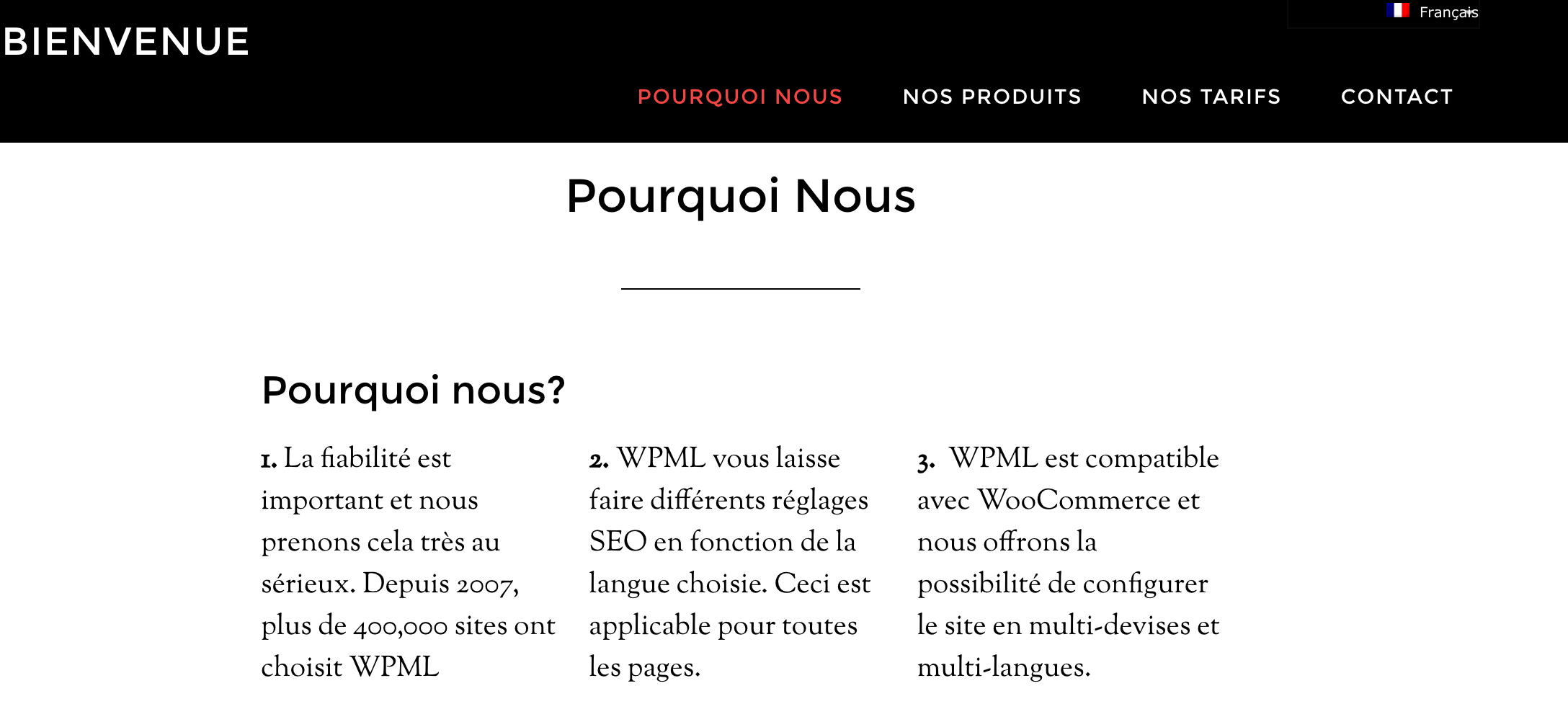 How to translate Genesis Framework into different languages using WPML