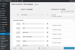 Translation Editor WPML