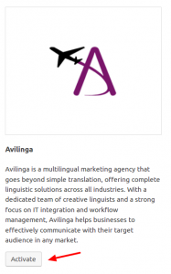 Activating Avilinga