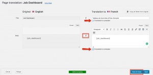 using wpml to translate WP Job Manager